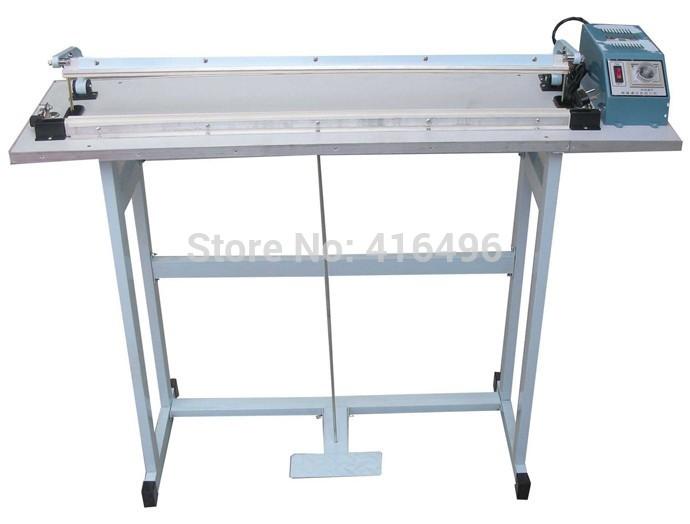 Pedal sealer electrical impulse sealing machine aluminum foil bags packaging sealer plastic pocket closure sealing packer tools(China (Mainland))