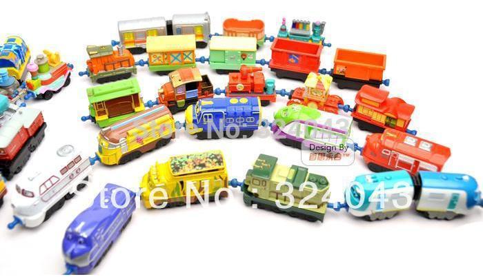 Big discount 18pcs/lot mix order, Chuggington Train special toys for kids(China (Mainland))