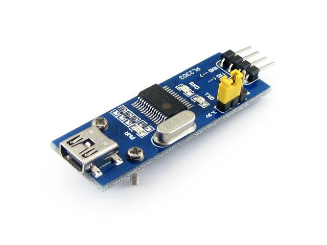 PL2303 USB UART Board (mini) PL-2303HX PL-2303 USB TO RS232 Converter Serial TTL Module Development Board(China (Mainland))