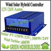 700W(400W wind turbine +300W Solar Panel) Wind Solar Hybrid Street Lamp Controller