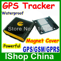 GSM GPRS GPS tracking waterproof Anywhere I , SOS button + powerful magnet + tracking with sms google link(China (Mainland))