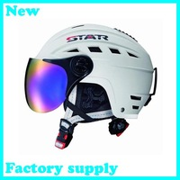 2012 hot sale ABS five color factory supply adult ski open face specialized helmet skateboarding skiing helmets