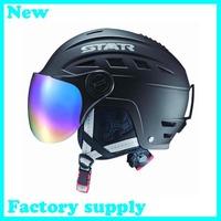 2014 hot sale ABS five color factory supply adult ski skate helmet skateboard skiing helmets
