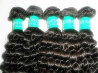 "12'' -30""Mix Length Peruvian Virgin hair ,hair extensions deep wave  Natural color 3pcs/lot  free shipping"