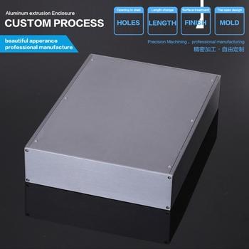 "Aluminum Box Enclosure Case -13.39""*9.84""*2.54""(L*W*H)"