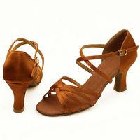 Fashion lady's ballroom/latin dance shoes, women dance shoes, salsa shoes  heel height 5.5 cm or 7cm free shipping