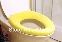 Free shipping Colorful&Warm Toilet Seat Cover Household soft toilet Cover WC cover Optional  color