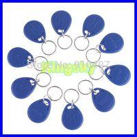 10 pcs BLUE 125Khz RFID Proximity ID Identification Token keyfobs