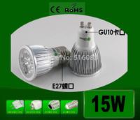 1x Replace 50W High Brightly CREE GU10 3W 9W 3*3W 12W 15W 110V 220V Dimmable Led Light Lamp Led Spotlight Dwonlight bulb