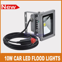 high quality 12V 10W LED flood lights outdoor Car fishing auto lighting bulb lamp 980lm