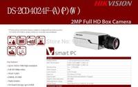 DS-2CD4024F-W = DS-2CD853F-EW Hikvision IP camera, 2MP Network Camera w/PoE, 2MP Full HD Box Camera,ePTZ control, CCTV camera