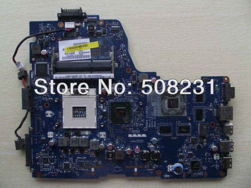 Hot, k000121720 la-6831p für toshiba satellite P750 p755 laptop motherboard, 100% geprüft und garantiert in einwandfreiem Zustand