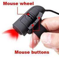 Wholesale 10pcs/lot Freeshipping Dropshipping!!! Mini USB 3D Optical Finger Mouse Mice for Laptop PC