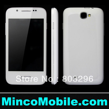 "4.0"" Capacitive Multi-Touch Screen Quad Band Dual SIM N7100 S7100 SC6820 1G Mhz Cpu Android 2.3 Smart Phone"