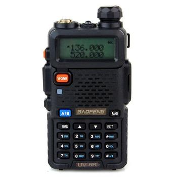 2pcs BaoFeng UV-5R Walkie Talkie Dual Band VHF136-174MHz/UHF400-520MHz 5W 128CH Radio With 1800mAH Battery UV-5R  Free Earphone