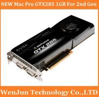 100% Original NEW  EVGA Mac Pro 2nd Gen+ 2008-11 MACPRO nVidia GeForce GTX285 1GB Video Graphics Card, 2 years warranty