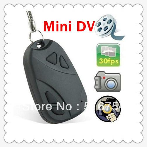CAR REMOTE KEY Mini HIDDEN Cam Recorder DVR MICRO CAMERA DV 720 x 480 image 1280 X 1024 DA0149 -20(China (Mainland))