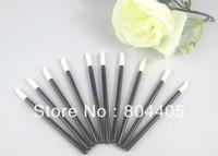 100% promotions! disposable lip brush, disposable lip gloss wand, lipstick gloss applicator 100pcs/lot