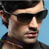 Free shipping Fashion sports sunglasses polarized lens New Arrival Brand Designer sunglasses for Men Metal sunglasses