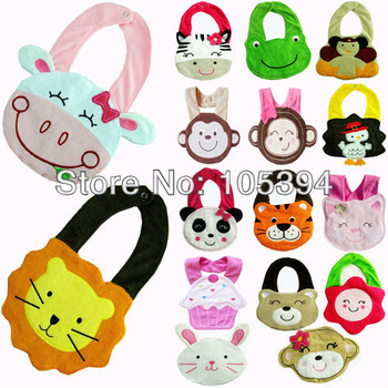 Free shipping 5pcs/lot Towel Waterproof Carter's cartoon Bibs & Burp cloths soft cute