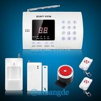 Wireless 99 zone Autodial PIR Home Security Burglar Alarm System Easy DIY Free Shipping