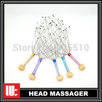 "2014 Top Fasion Body massage 200pcs/lot Head Massager Scalp Tingler Hot Sale To Us ""free Shipping"""