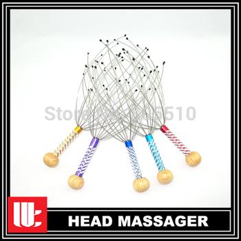 "2015 Top Fasion Body massage 200pcs/lot Head Massager Scalp Tingler Hot Sale To Us ""free Shipping"""