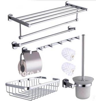 bathroom accessories,  bathroom hardware 8 pieces/ set 8618a,brass