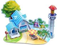 Holiday Sale Children Puzzle 3D puzzle-Romantic beach