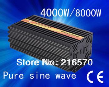 Best quality!!4000w(Peak 8000w) home power inverter(dc 12v to ac 110v/120v/220v/230v/240v (CTP-4000W)
