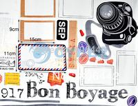 Decorative Combination Camera Photo Frame DIY Wall Sticker Art Decor Home Room Free Shipping 4678