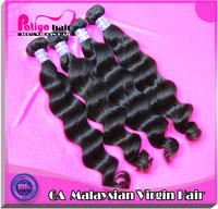 3pcs/lot mixed length malaysian virgin hair natural wave DHL free shipping  color 1b & 10-32inch