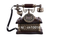 Free shipping Hot sale antique  wooden telephone, beautiful gift for holidays