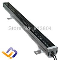 AC 85-265 V IP65 Waterproof  DMX 512  changeable Landscape Lighting 1.0m/1.2m length 36W RGB high power led wall washer light