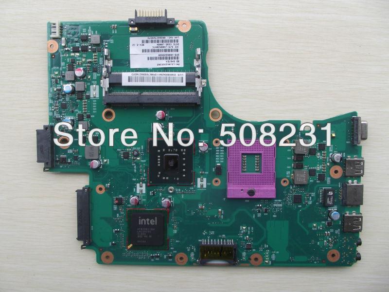 Ingrosso v000225020 scheda madre del computer portatile per toshiba c650 l650,100% testato e garantito in buone condizioni di lavoro