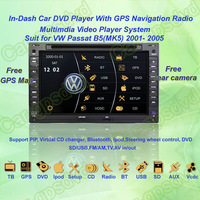 2001- 2005 VW Passat B5(MK5) GPS Navigation DVD Player ,TV,Multimedia Video Player system+Free GPS map+Free camera