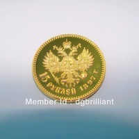 [HOT SALE] Free shipping wholesalae 100pcs/lot 1896 Russian coin gold-plated Collectible coin