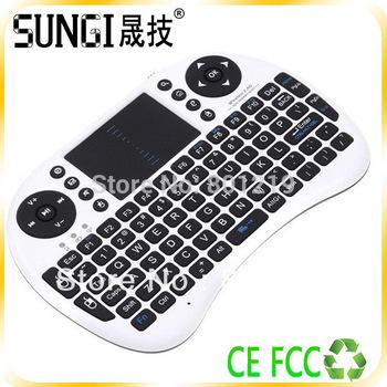 Mini Wireless keyboard With Touchpad,Multimedia Wireless Mini keyboard