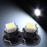 10pcs Freeshipping wholesale T4.7 White Red Blue Pink 1Led 5050 Xenon Interior Bulb CLUSTER GSUGE Dash Board Lamp
