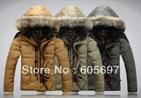 brand  free shipping 2012  90% duck down cold   - -40 Degrees Celsius  winter men's  upset down jacket /down coat