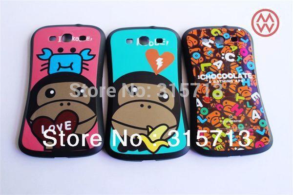 New iface Case For Samsung galaxy s3 i9300, Korea Candy fashion skull case, Hard PC + TPU Ultra Shockproof Case 10pcs/lot(China (Mainland))