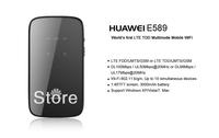 EMS/DHL Huawei E589 4G Wireless Router Pocket WiFi 100 Mbps MiFi hotspot  original, brand new, sealed LTE FDD2600/2100/1800/800