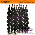 Free shipping 3 pieces/lot body wave natural color brazilian virgin remy human hair weaving