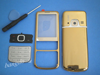 GOLD MOBILE HOUSING COVER CASE +KEYPAD TOOL FOR NOKIA 6700c 6700