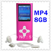 "8GB 2"" LCD Screen MP4  Music Player Multi Media Video Radio FM Games 9 Colours DA0201 - DA0210"