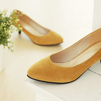7colors for option big size  lovely Casual Low heel shoes for women Spring hot sale SL101