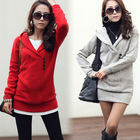 New Fashion Womens Clothing Winter Long Sleeve Casual Woolen Sweater Jacket Coats Outerwear