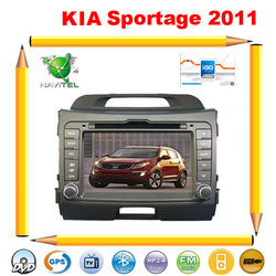 Car dvd and gps for KIA 2011 NEW Sportage 2011 dvd gps,ipod,TV+Russian Menu+Free Rearview Camera+Free shipping !!!(China (Mainland))