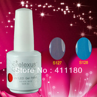 2014 Hot Brands Soak Off UV Gel Polish 337Fashion Colors (5pcs color gel+1pc base gel+1pc top coat+FREE SHIPPING)