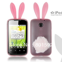 For Huawei C8650 M865 U8650 case Rabbit TPU silicone Case with high quality Free Shipping